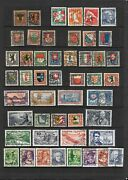 Swiss Pro Juv. Semi-postals Huge Lot Used And Sound All Listed3 Photo