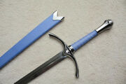 S4875 Movie Lord Of The Rings Hobbit Glamdring Gandalf Sword Blue Scabbard 26