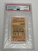 Mickey Mantle 1968 Psa Ticket Stub Last Ab/game Yankees At Boston Red Sox Psa