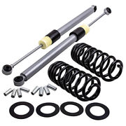 2pcs Rear Air To Coil Spring Conversion Kits For Hummer H2 2003-2009 15938306