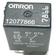 Gm Omron Automotive Relay 12v 5-prong 12077866 7866 Tested R20hl