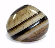 Islamic Antique Collectible Beautiful Fine Quality Natural Agate Bead. G52-5 Us