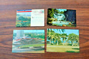 Cards Cuba Mailed Stamped Vintage Correspondence Post Cards Stamps Estate Old Zh