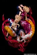 New Plex One Piece Log Collection Large Statue Series Boa Hancock From Japan