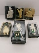 Dept. 56 Lot Of 6 Snowbabies See Pictures And Description