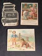 Helmes Snuff Trade Card Lot Quaker Home Range Becan Lesson Pictures Tobacco
