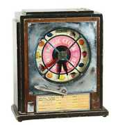 Antique Keeney And Sons Coin Operated Machine Magic Clock Fortune Teller Rare