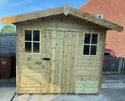 High Quality Garden Shed/cottages With Metal Roof And Vapour Barrier London Price