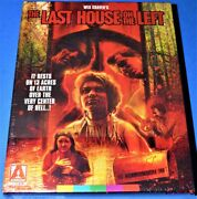 New Arrow Wes Craven Last House On The Left Limited Edition 3 Disc Blu Ray 1972