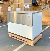 New 49 Grocery Refrigerator Cooler Top Front Loading Milk Eggs Crate Nsf Etl