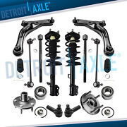 14pc Front Struts Lower Control Arms Sway Bars For 2008 2009 Ford Escape Mariner