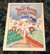 Vintage The Night Before Christmas A Big Golden Book 1985 Lovely Illustrations