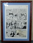 Graham Ingles Original Artwork Tales From Crypt 41 Page 3 Witchand039s Cauldron 1954