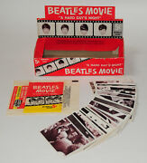 Beatles Rare Vintage 'ahdn' Trading Cards Box, Complete Set Of Cards And Wrapper