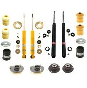For Bmw E24 633csi Front And Rear Shocks And Strut Inserts With Mounts And Plates Kit