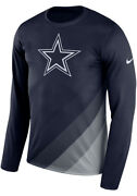 Dallas Cowboys Lgnd Sideline Long Sleeves Navy Menand039s X-large