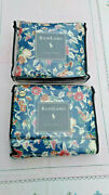 Jardin Vintage Lined Drapes New Old Stock 2 Pairs Available-cotton