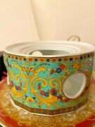 Versace Marco Polo Warmer For Tea Pot Rosenthal 1000 Discontinued Sold Out