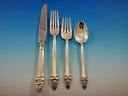 Sovereign Old By Gorham Sterling Silver Flatware Set For 8 Service 32 Pieces