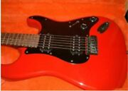 Squier By Fender Japan Contemporary Series Stratocaster Type Red Electric Guitar