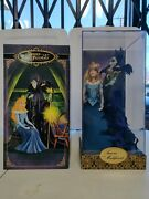 Disney Fairytale Designer Collection Aurora And Maleficent Collectable Doll Rare