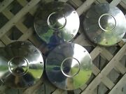 4 Vintage Ford Falcon Ranchero Fairlane 9 1/2 In. Hubcaps Wheelcovers Center Cap
