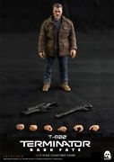 Threezero 3z0152 T-800 1/12 Scale Old Arnold Man Soldier Action Figure Toys