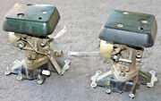 Pair Carburetor Chrysler Force Us Marine As Is Condition Model Year Unknown Ix