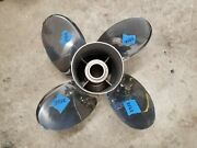 New Counter 4 Blade 14 1/2 X 17p Mercury Offshore Ss Prop 48-825899-17 3352