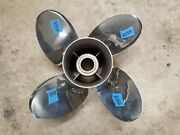 New Counter 4 Blade 14 1/2 X 17p Mercury Offshore Ss Prop 48-825899-17 3353