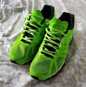 Nike Air Max+ 2012 Shoes 12.5 Electric Green / Black/white 487982-301 Worn 1 Day