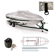 New V-hull Fishing Ski Storage Mooring Boat Cover Fits 17and039 -19.5and039l 100width