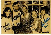 Very Rare The Waltons Cast Signed 6x4 Sepia Photo Todd Mueller Coa
