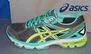 Womens Asics Gt - 1000 3 In Colors Charcoal / Yellow / Mint Size 6.5