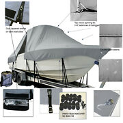 Sportsman Heritage 251 Center Console T-top Hard-top Fishing Storage Boat Cover