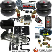 B Chassistech Tow Kit F250 F350 2005-2010 Compressor Bluetooth Controller Horn