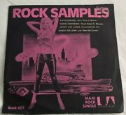 Rock Samples, Various, 1971 United Artists Demo Ep. Randr, Vinyl And Pic Sleeve Ex.