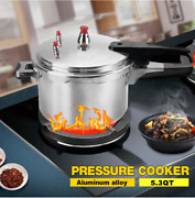 5.3 Qt Stove Top Pressure Cooker Fit Electric/gas Stove Kitchen Cookware