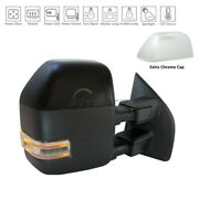 New Right Power Tow Door Mirror For 2017-2019 Ford F-250 Super Duty Fo1321611