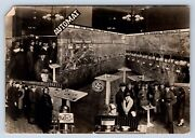 Vintage Postcard Express Automat Vending Machines Coffee Beer Sandwiches Rppc A9