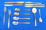 Mixed Lot Flatware Spoons Stainless Holland Morrisons Airline British Unusual Yf
