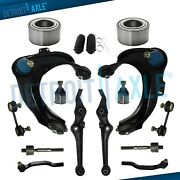 16pc Front Control Arms + Wheel Hubs Suspension Kit For Honda Accord Acura Cl Tl