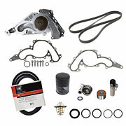 🔥genuine Timing Belt Water Pump Tensioner Idler Pulley Kit For Toyota Tundra🔥