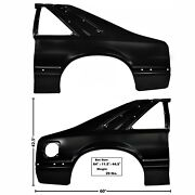 1991 1992 1993 Mustang Quarter Panel Full Pair Right And Left Side Edp Steel Dii