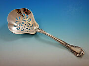 Chantilly By Gorham Sterling Silver Pea Spoon Pierced 8 3/4 Serving Silverware