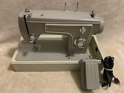 Sears Kenmore 148.12160 Sewing Machine With Box Vintage 1971-1972
