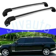 Us Stock Cross Bar For Range Rover L405 2013-2021 Durable Luggage Roof Rack Rail