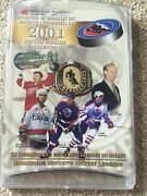 2001 Hockey Hall Of Fame Inductee Medallion Collection Rare Coins Nhl
