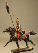 Painted Tin Toy Soldier French Mamluk 4 54mm 1/32