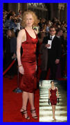 F/w 2003 Vintage Tom Ford For Corseted Red Dress As Seen On Nicole